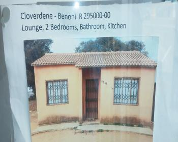 2 Bedroom House For Sale In Benoni East Rand